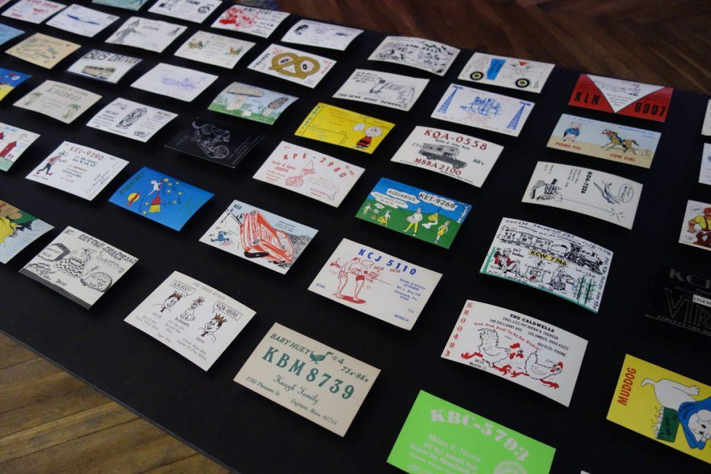 James Turek's QSL card collection