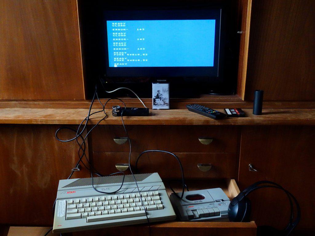 Kluvim Tape, Atari 800 + XC12